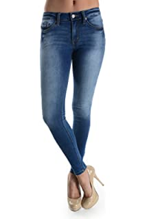 c6ad53d4 Kan Can Women's Skinny Jeans at Amazon Women's Jeans store