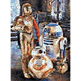 Buffalo Games Droids of The Resistance Star Wars Episode VII Photomosaic Puzzle, 1000 Piece