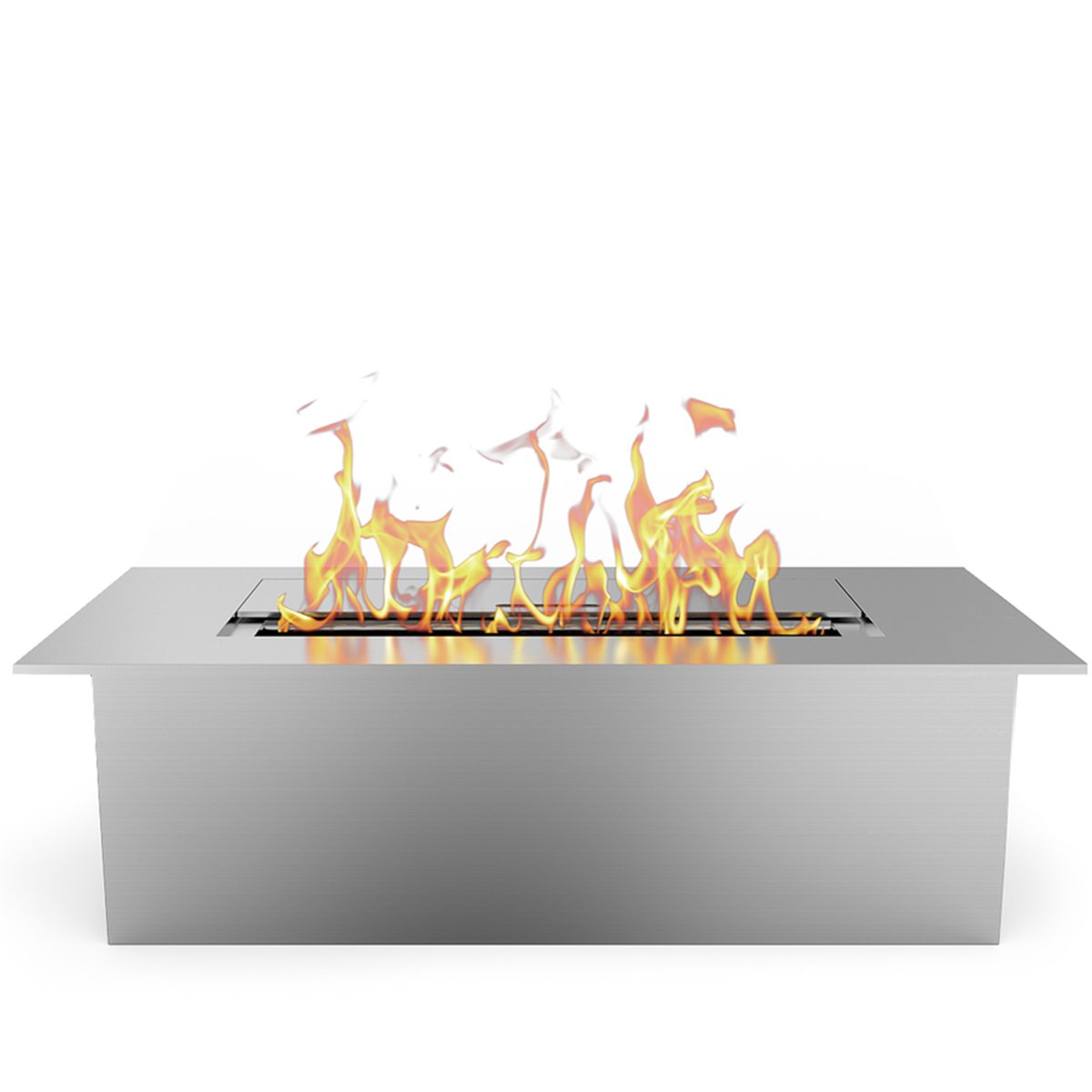 amazon com elite flame 12 inch ventless ethanol fireplace burner