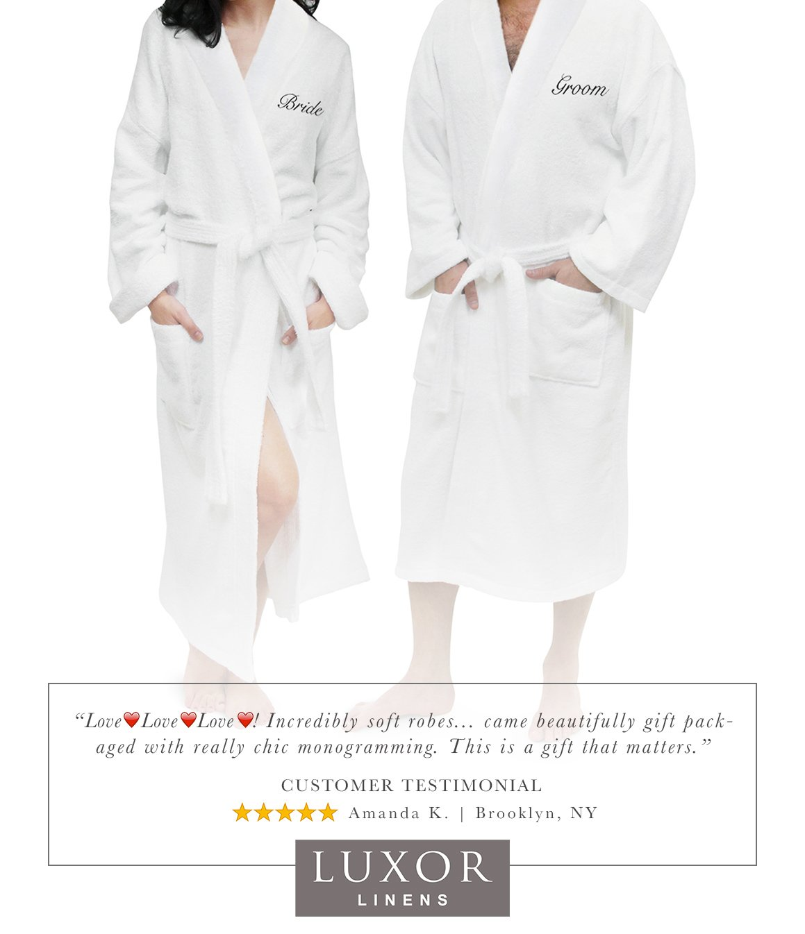 a014180447 Luxor linens couples terry cloth bathrobe egyptian jpg 1159x1346 His and  her robe set