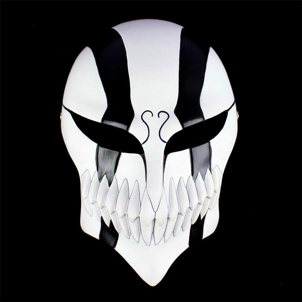 Gmasking Resin Bleach Ichigo Kurosaki Full Hollow Cosplay Mask+Gmask Keychain