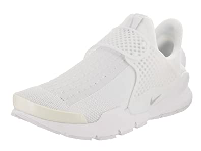 Nike Sock Dart Womens Running-Shoes 848475-100_8 - White/Pure Platinum