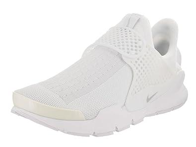 Nike Womens Sock Dart White/Pure Platinum Running Shoe 7 Women US