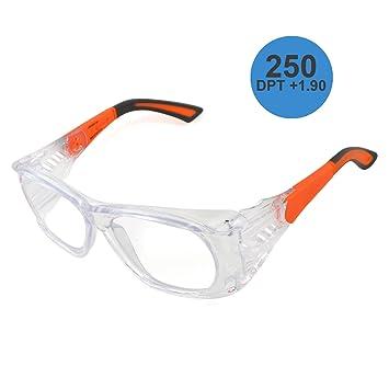 6fa40936fecc0 Varionet Safety VHP10 VH10 Pro 250 Lunettes de protection à la vue  Transparent Orange