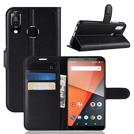 newest collection 66a76 36726 Amazon.com: Vodafone Smart X9 Case CJ Sunshine Stand Feature Flip ...