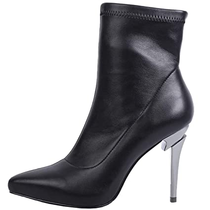 edfc4151e3dc6 Amazon.com: GTVERNH Women's Shoes/Sexy Pointed High-Heeled Shoes ...
