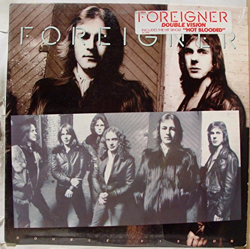 FOREIGNER double vision LP Mint- SD 19999 Atlantic USA 1978 w/Inner