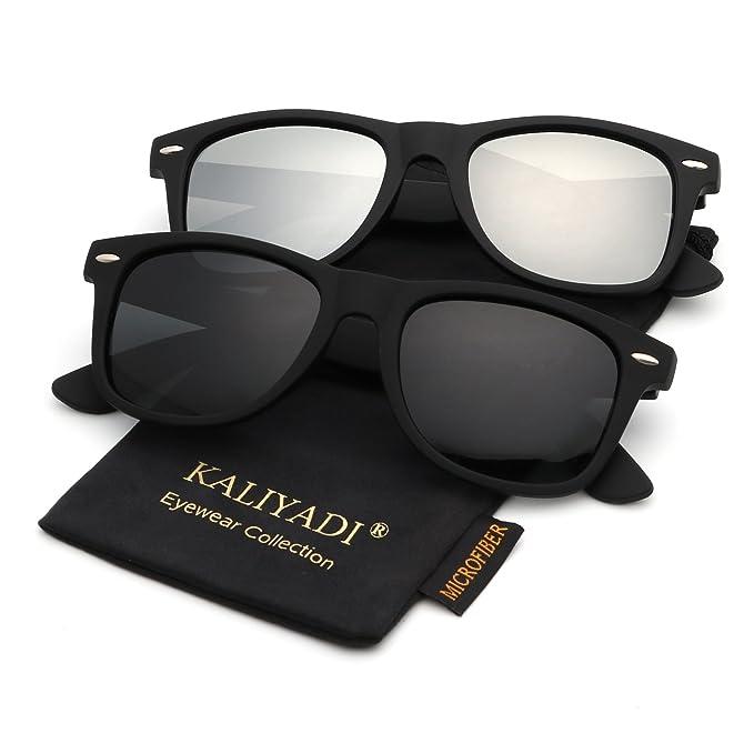 6b9af1f792959 Amazon.com  Unisex Polarized Sunglasses Stylish Sun Glasses for Men ...