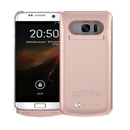 idealforce Samsung Galaxy S7 Edge Carcasa de batería, 5200 mAh ...