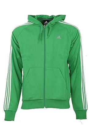 Adidas Klima 3 Streifen Herren Grün Durchgehender