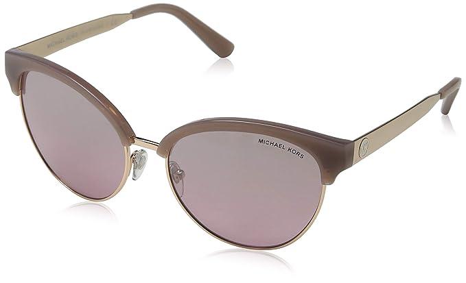 Michael Kors Amalfi 33097E 56 Gafas de sol, Dorado (Milky ...