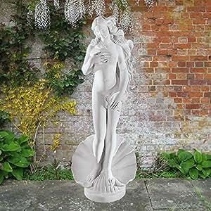 Grandes estatuas de mármol–nacimiento de Venus 86cm griego escultura de jardín