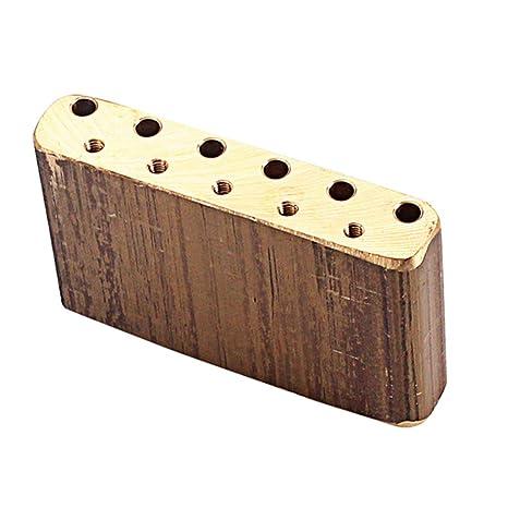 Amazon com: Baosity Brass Tremolo Block Sustain Bridge for Fender