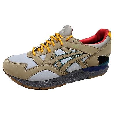 e27b2789586c ... authentic asics mens gel lyte v 5 vapor blue olive grey h44gk 4880 shoe  11.5 m