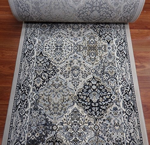 Ivory Custom Roll Runner (178498 - Rug Depot Traditional Stair Runners and Hall Runners - 26