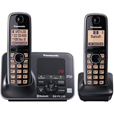 amazon com panasonic kx tg7622b dect 6 0 link to cell via bluetooth rh amazon com Panasonic 6.0 Plus User Manual Panasonic DECT 6.0 Features
