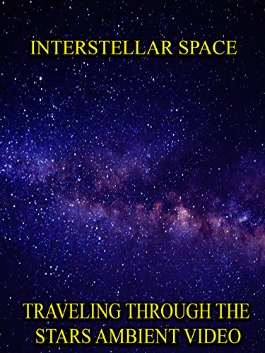 Interstellar Space Traveling through the stars ambient video