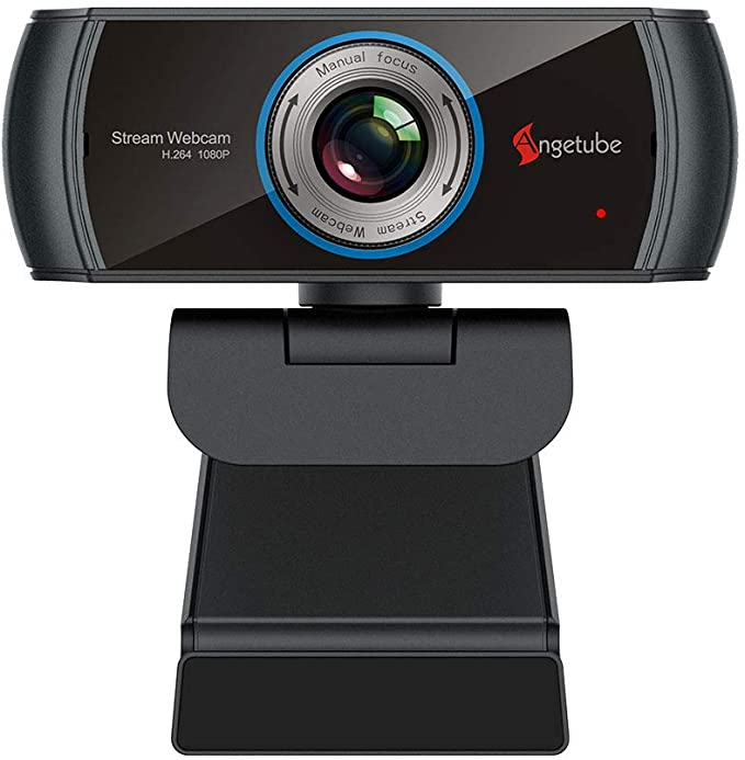 Web Camera with Microphone YouTube Skype Camera for Mac OS//Windows Live Streaming Laptop Camera for Video Calling and Conferences AOGE 1080P 30fps Full HD PC Webcam USB Camera for Computers