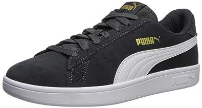 new style 722c0 69639 Amazon.com | PUMA Men's Smash V2 Sneaker, Asphalt-White ...