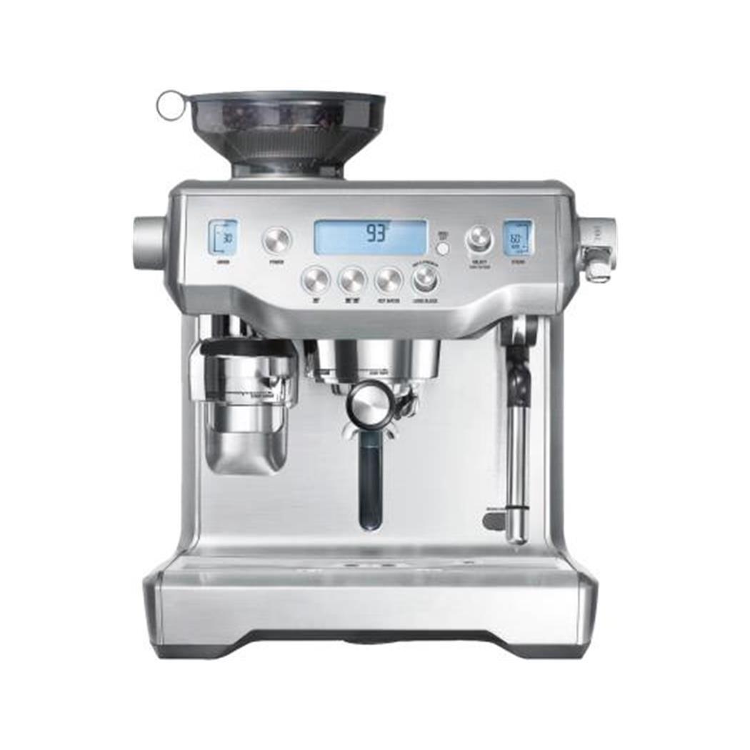 Espresso Siebträgermaschine mit integriertem Mahlwerk Gastroback 42640 Design Professional