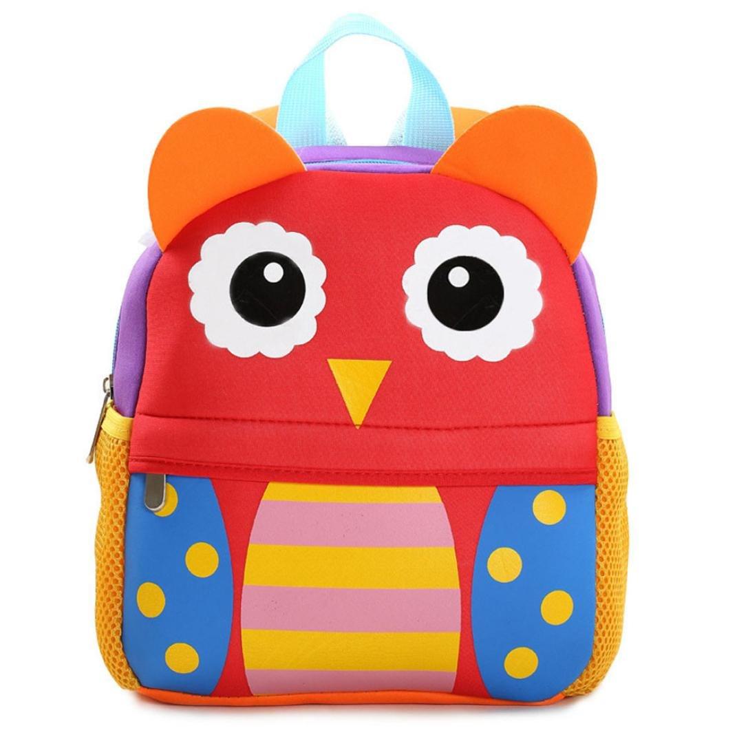 sinwoかわいい子バックパック幼児用子供学校バッグ幼稚園漫画肩Bookbagsハンドバッグ B074GYH1V1 E