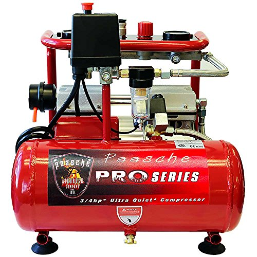 - Paasche Airbrush DC850R Compressor for Airbrush