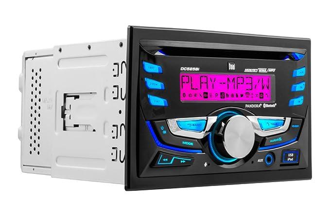 amazon com dual electronics dc525bi double din 2 0 din cd rh amazon com