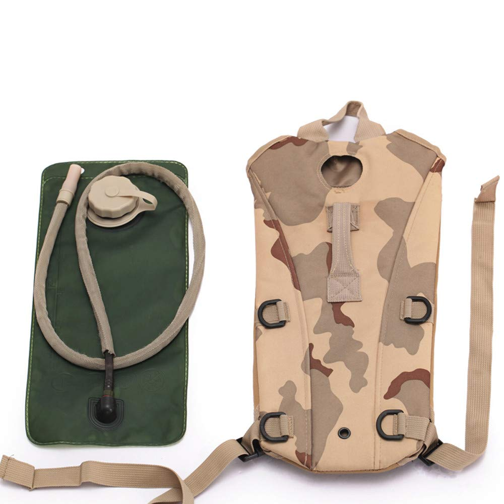 27ce746c65af Amazon.com: Glumes Army 3L 3 Liter (100 ounce) Hydration Pack ...
