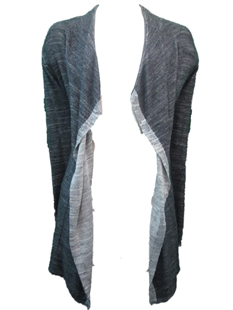 3edfc9e16b1 Eileen Fisher Charcoal Grey Cascading Cardigan Fashion Sweater-Size XL at  Amazon Women's Clothing store: