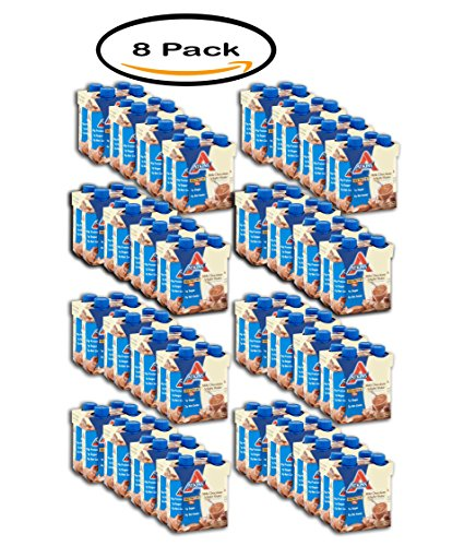 PACK OF 8 - Atkins Ready To Drink Shakes Milk Chocolate D...