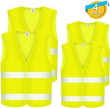 5 gilets jaune XXL korntex panne accident iso20471:2013 Sécurité Gilet voiture