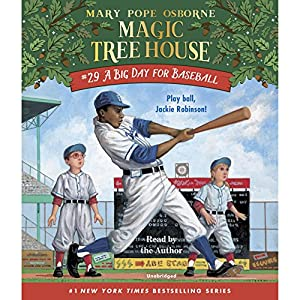 Download audiobook A Big Day for Baseball: Magic Tree House, Book 29