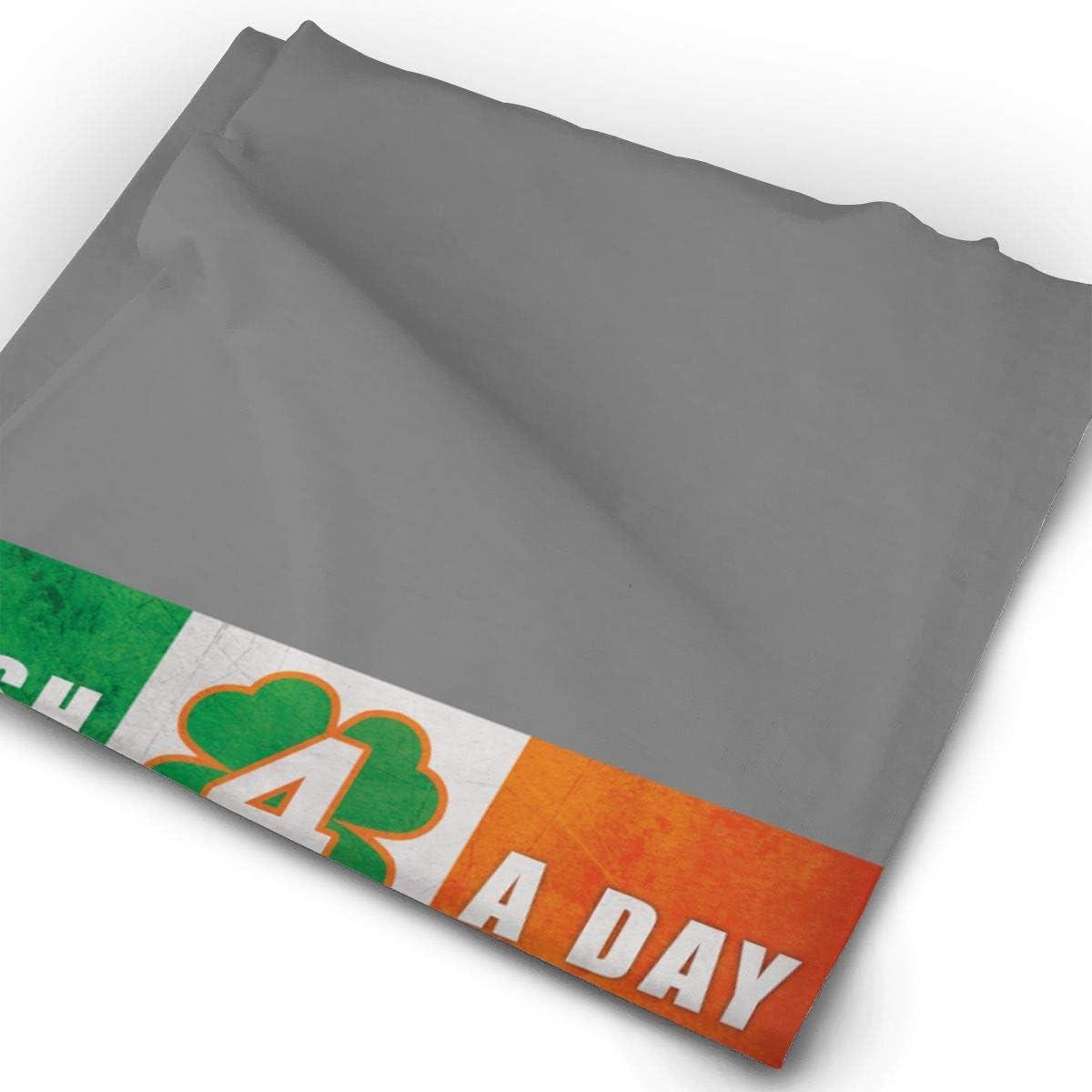 Neck Gaiter,Balaclava Headwear,Bandana Irish 4 A Day Multifunctional Headband Sports Magic Scarf