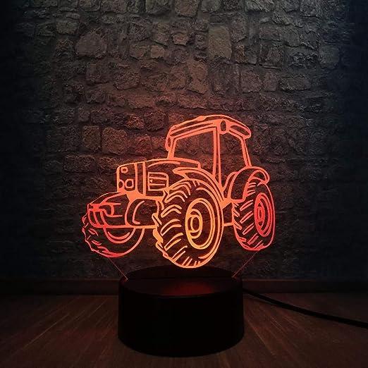 Venta Caliente Beach Dune Buggy Car 3D Led Lámpara 7 Colores ...