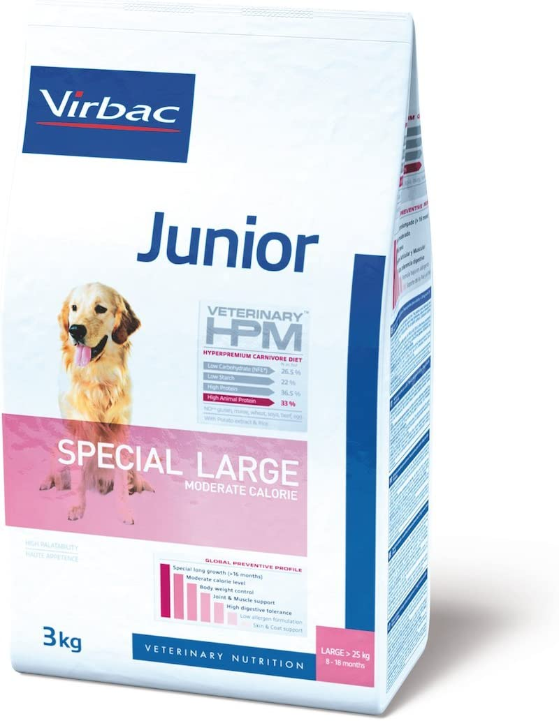 Veterinary Hpm Virbac Hpm Dog Junior Large 12Kg Virbac 00227 12000 g
