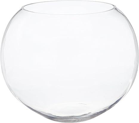 Wgv Clear Round Bubble Bowl Glass Vase Amazon Ca Home Kitchen