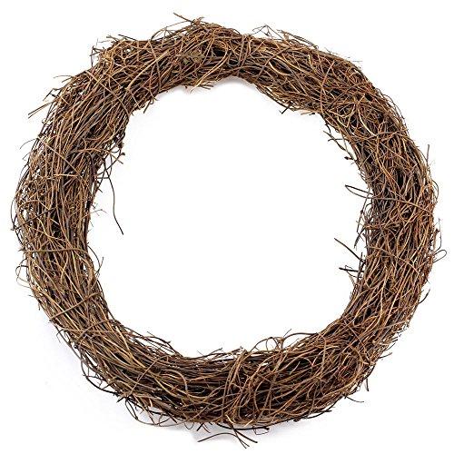 Grapevine Base - Supla 2 Pcs Grapevine Wreath Base 10 inch Grapevine Wreath Base Rustic Wreath Craft Base Wreath Form DIY Everyday Wreath