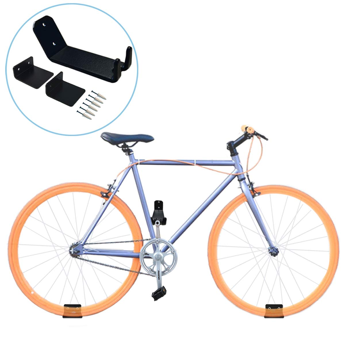 Venzo Quality Steel Car Roof Bike Bicycle Carrier Fork Rack
