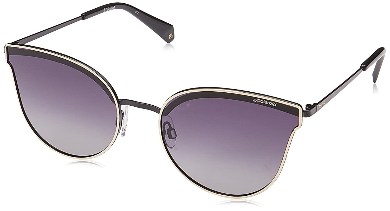 df66bc2e0418 Amazon.com  Polaroid Sunglasses Women s Pld4056s Polarized Oval Sunglasses  GOLD 58 mm  Polaroid  Clothing
