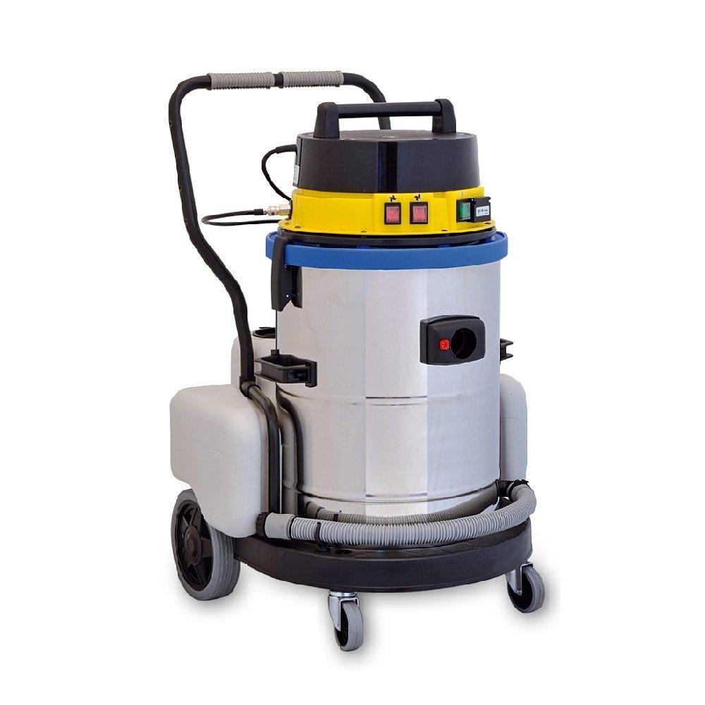 EOLO MOTOR VAPOR LP09 sistema de limpieza profesional multifunción Aspira y Lava con agua fría, equipada con n. 11 accesorios estándar que permiten una ...