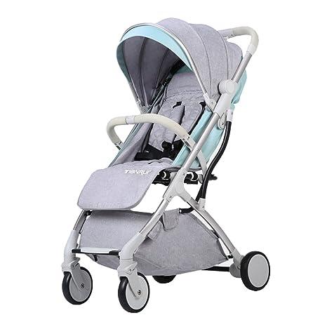 Trolley LXZXZ - Carro de bebé de 4 Ruedas Ultra-Ligero ...