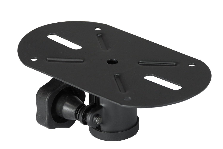Electrovision - Embase Externe Noire 35mm - Couleur: Métal