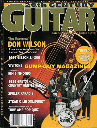 Country Gentleman Guitar - 20th CENTURY GUITAR April 2008 Magazine 1959 GRETSCH CHET ATKINS COUNTRY GENTLEMAN Kim Simmonds Career Spanning Some Four Decades, The Leader Of Savoy Brown Returns TUBE GUITAR AMP POP QUIZ