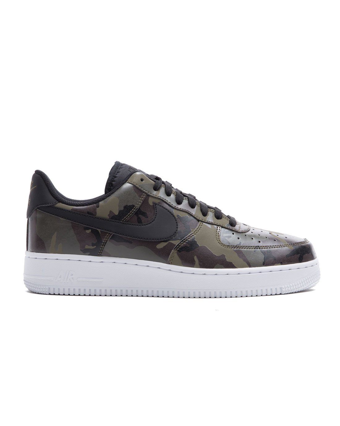 huge selection of 32cce 62c9f Galleon - Nike Mens Air Force 1  07 Low Camo Shoes Medium Olive Baroque  Brown Sequoia Black 823511-201 Size 11