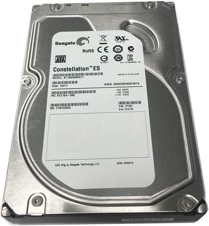Seagate Constellation ES ST1000NM0011 1 TB 3.5 Internal Hard Drive