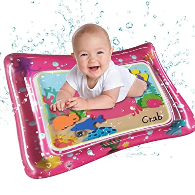 Yu2d Inflatable Baby Water Mat Fun Activity Play Center for Children & Infants Fun Play Activity Center for Toddlers Waterproof Gifts: Home & Kitchen