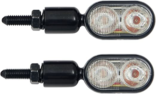 Mini Micro DEL Feu Arrière Voyant frein queue lumière Malibu MOTO Quad ATV scooter