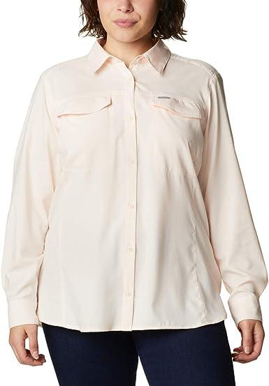 Columbia Silver Ridge Lite - Camisa de Senderismo de Manga Larga para Mujer
