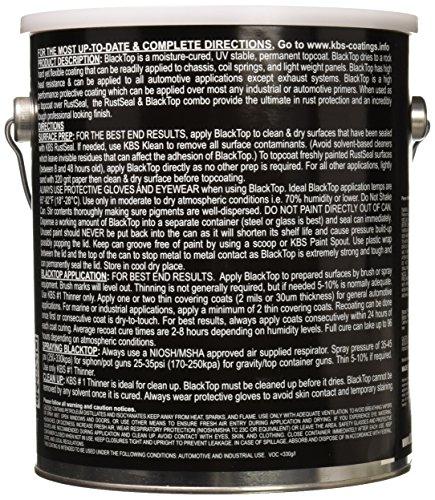 KBS Coatings 8501 Gloss Black BlackTop Chassis Paint - 1 Gallon by KBS Coatings (Image #1)