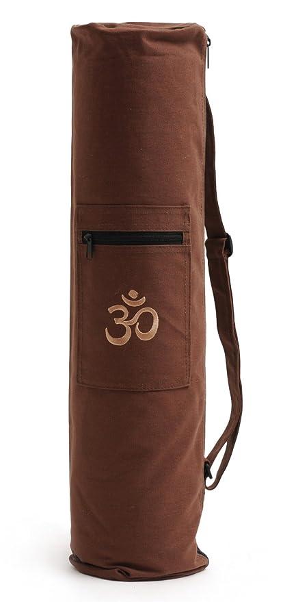 Yogistar - Bolsa para alfombrilla de yoga, color marrón marrón Marron choco